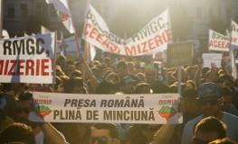 Proteste impotriva RMGC - Cluj
